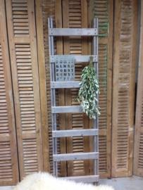 VerGrijsde ladder (tree bovenop) maat 155-175