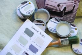 Kalkverf proefpotje 50ml Carte Colori (vermeld kleur na bestelling bij opmerking)