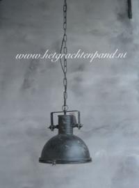 Hanglamp (55) met  glas maat  32x32x36