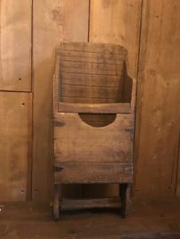 Oude rijstschep