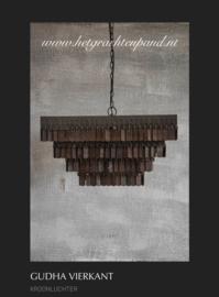 Hoffz hanglamp guhda vierkant 45x45x25