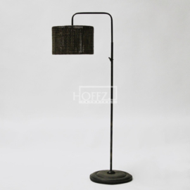 Hoffz staande lamp gebogen (zonder kap) maat hoogte 110 dia 33