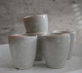 Nordic coal bruin  espresso Mok maat 6,5x8 (zonder oor) letop kleur afwijkend