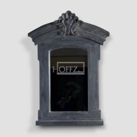 Hoffz spiegel dusty black maat L 75/90 x H 125