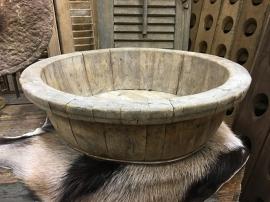 Oude olijfbak afm gem tussen de 40-60 cm