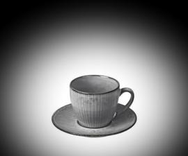 Nordic Sea Koffie kop met schotel 11x5,8