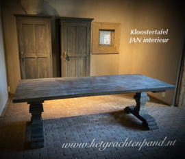JAN Interieur Kloostertafel maat 220 breed