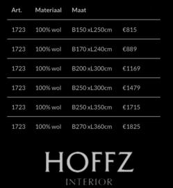 Vloerkleed Hoffz Maroc 100% wol (maat 150x250)