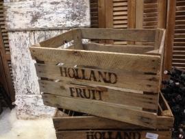 Stoere oude fruit kisten