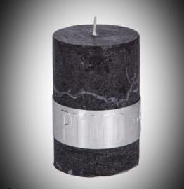 6x4 cm kaars ambient in de kleur Wit/Lichtgrijs/ Donkergrijs/ Bruin of Zwart