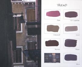 Trend Kleurenkaart