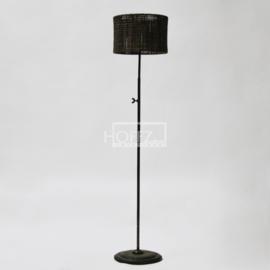 Hoffz staande lamp recht (zonder kap)  maat 115 hoog dia 28