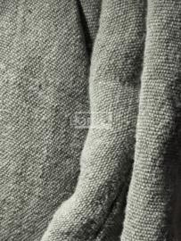 Hoffz gordijn (nieuwe collectie) 70% linnen, 30% jute  kleur naturel met lederen lus maat 180 x 270