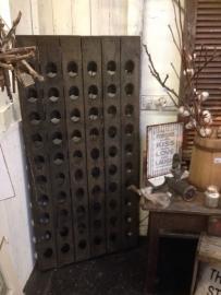 Het Grachtenpand - wijnrekken