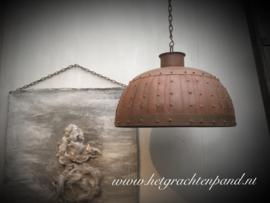 Stoere hanglamp 50cm dia (zonder elektra)