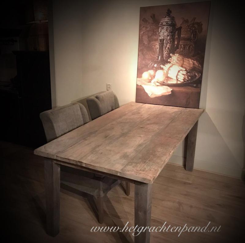 Hoffz Franse  tafel 200x 95/100 x 78
