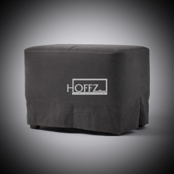 Hocker Liza 60x40x44 losse stoffering
