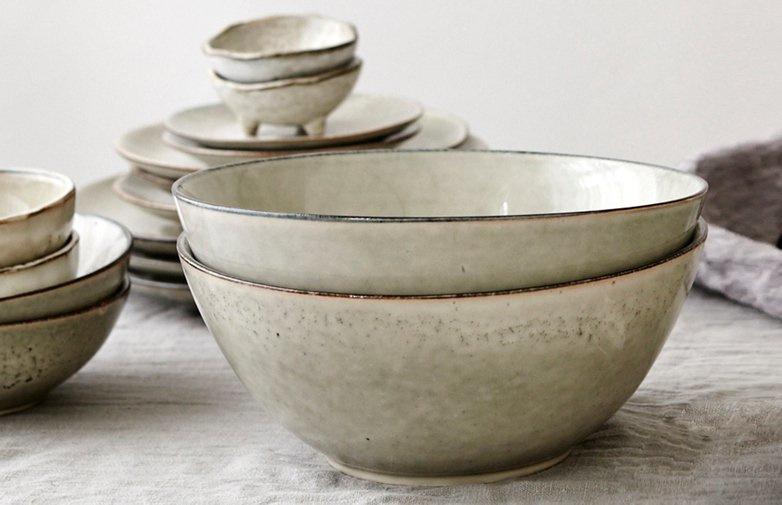 Broste Copenhagen Servies.Nordic Sand Bowl 15 Cm Dia X 8 Broste Copenhagen Servies Het