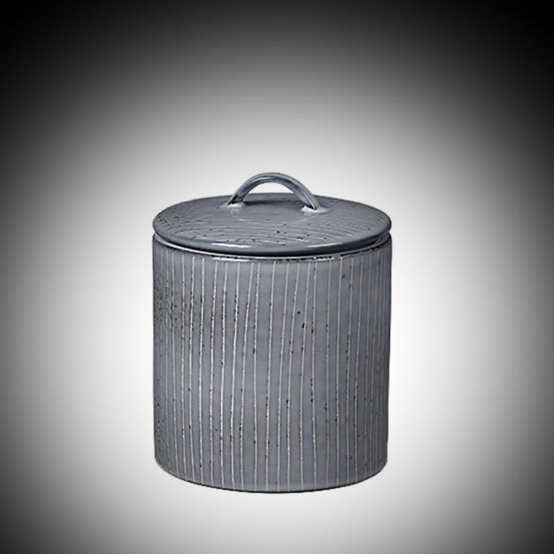 Nordic Sea pot met deksel 12x12