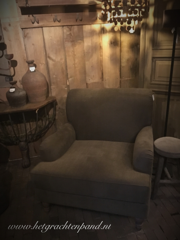 Hoffz fauteuil Jack (laatste showmodel) H 87x B 94 x D 100 cm