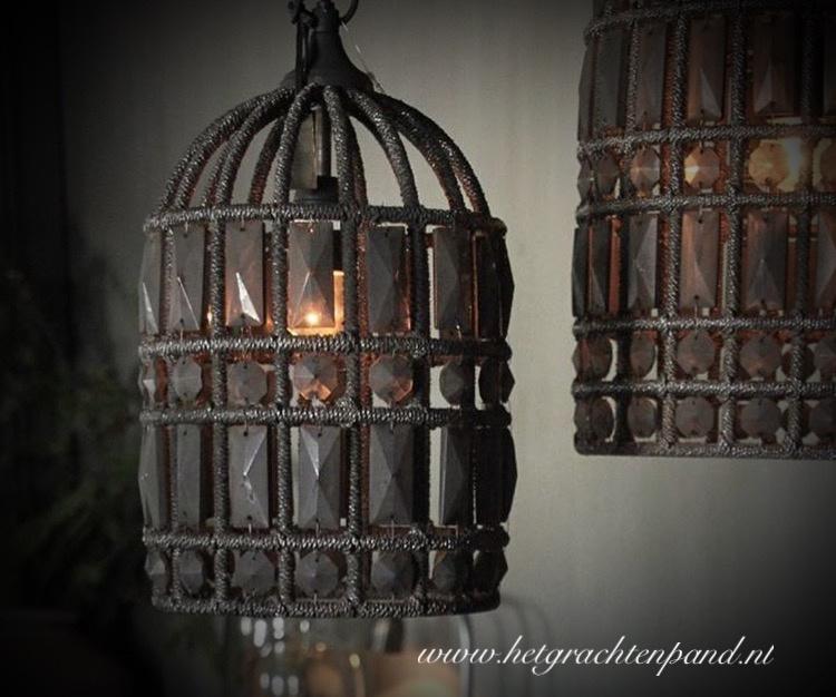 Hoffz hanglamp Zardosi let op afwijkendmodel maat  29x20 kleine maat (nw collectie)