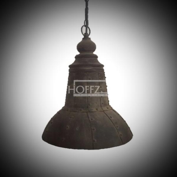 hoffz hanglamp Iron rustyDia 26.5xH38 cm