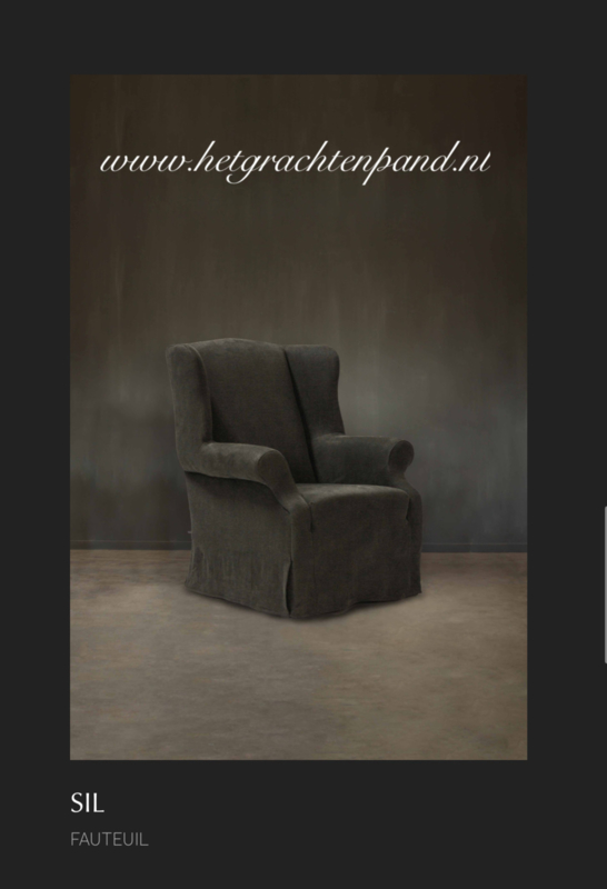 Hoffz fauteuil Sill maat H 105 x B 84 x D 79 cm