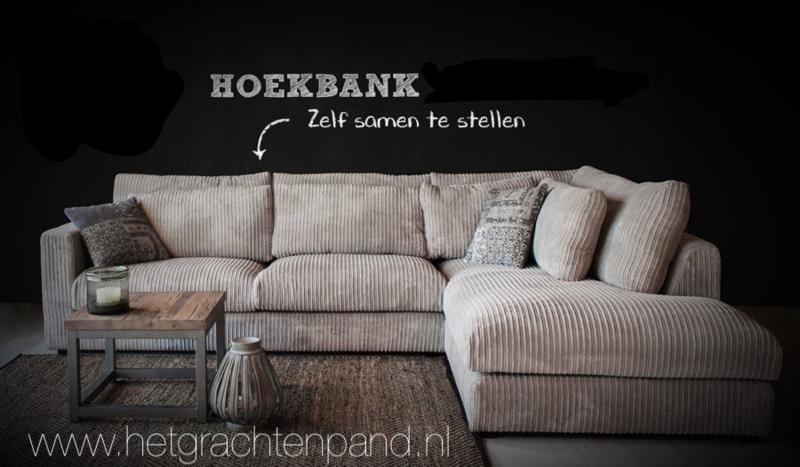 Bank Met Wandpaneel.Amstel Bank Hoek 331x226 2 5 Zit Met Longchair Links Of