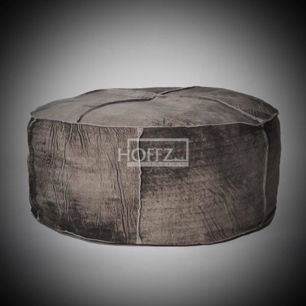 Poef stone wash  75x35x38