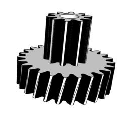 Vervangend tandwiel voor 15W motoren
