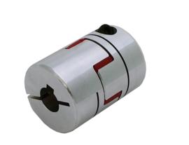 Flexibele koppeling voor 100W motoren 14mm - 14mm