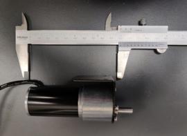 Elektromotorset 15W met rechte overbrening 0 - 10 omw/min