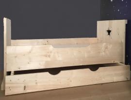 Peuterbed Steigerhout Ilse 70 x 150 cm