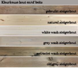 Kleurkeuze hout en/of beits