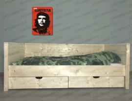 Steigerhouten Bedbank Mike 90 x 200 cm
