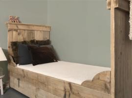 Kinderbed steigerhout Isabelle 90 x 200 cm