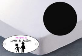 Hoeslaken Dreamzzz 90x200cm jersey zwart