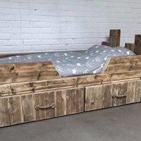 Peuterbed King Arthur met uitvalbescherming 70 x 160 cm