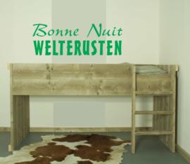 Halfhoogslaper steigerhout  Laura 90 x 200 cm