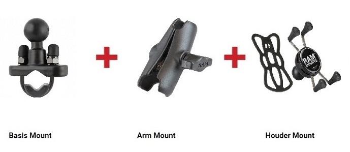 RAM - X-Grip set - Motor