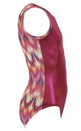 turnpakje flip flop roze maat 128-134