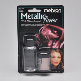 Metallic Powder met Mixing Liquid - Rose Gold