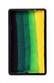 PXP One Stroke Block zwart|d. groen|groen|l.groen|geel