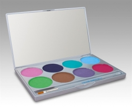 Paradise Make-up AQ 8-color Palette Pastel