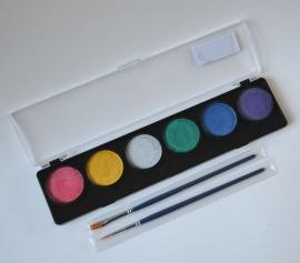 Palette Metallic 6 kleuren
