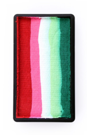 PXP One Stroke Block rood|roze|wit|lime|groen