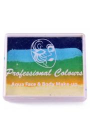 PXP Aqua  splitcake d.blauw|l.blauw|l.groen|geel|wit