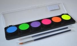 Palette Neon 6 kleuren