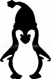 Pinguïn met muts