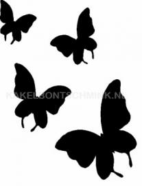 Vlinders 4x